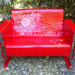 Photo Of Austin Pallet Furniture   Austin, TX, United States. Restored  Vintage Glider