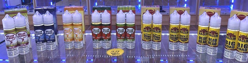 Vapor 100 choctaw: 7501 S Choctaw Rd, Choctaw, OK