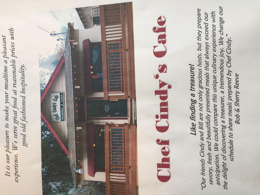 Crestline Cafe Crestline Menu
