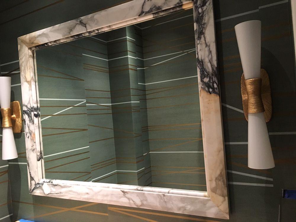 Marble mirror frame - Yelp