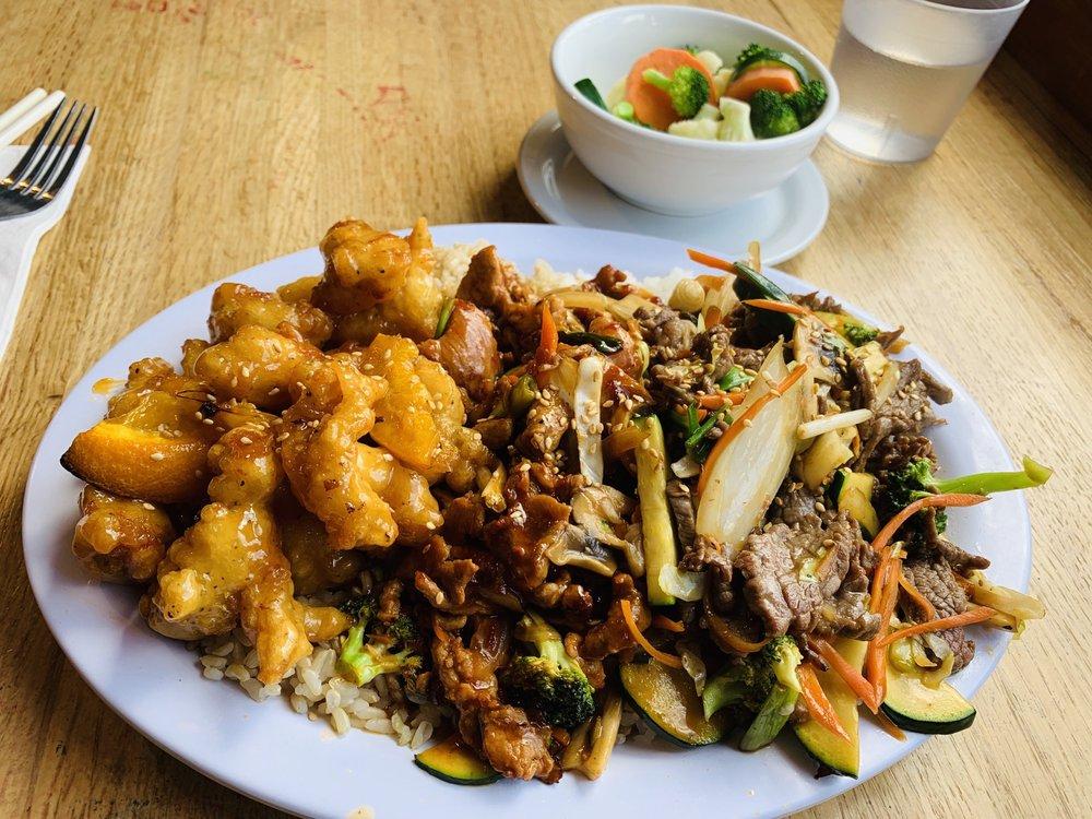 Food from Mihama Teriyaki Grill