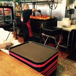 foto di backyard taco mesa az stati uniti charring tomatoes for