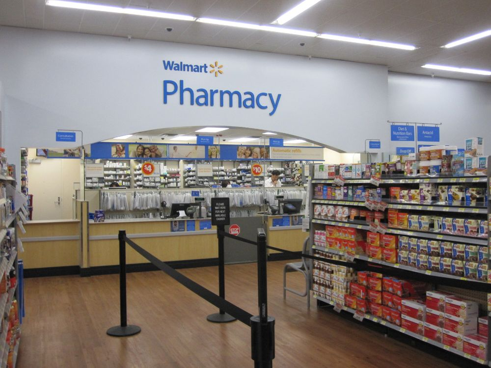 Walmart Pharmacy: 923 W 11th St, Hobart, OK