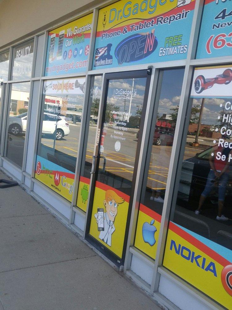 Dr Gadget CellPhone and Tablet Repair - Aurora: 4430 E New York St, Aurora, IL