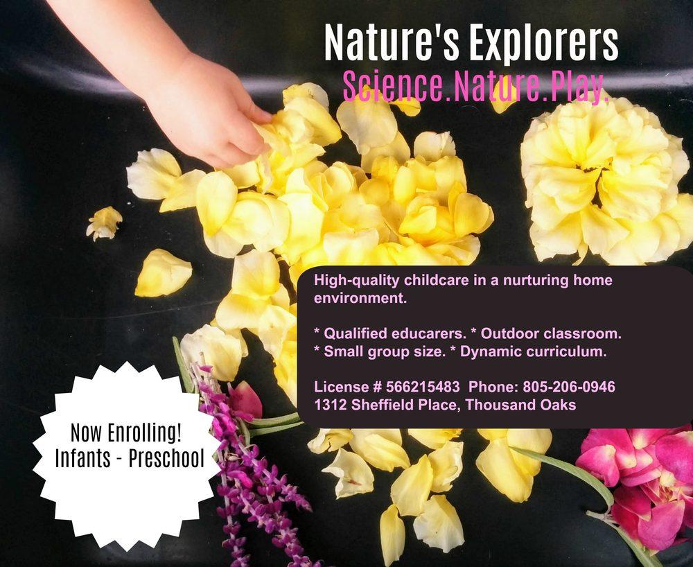 Nature's Explorers Childcare & Preschool: 1312 Sheffield Pl, Thousand Oaks, CA