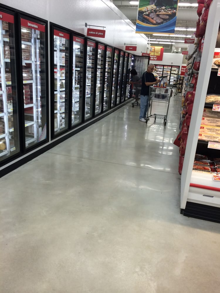 Favorite aisle at GFS, the frozen fruit, especially a large