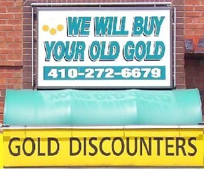 Gold Discounter: 38 N Parke St, Aberdeen, MD