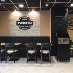 Twister french food fast food 182 rue pierre legrand for Deco restaurant americain