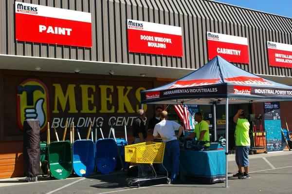 Meek S Lumber Hardware 4243 Dominguez Rd Rocklin Ca Building Contractors Mapquest