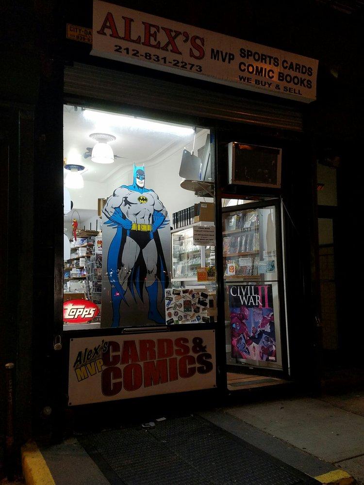 Alex's M V P Cards & Comics: 1577 York Ave, New York, NY