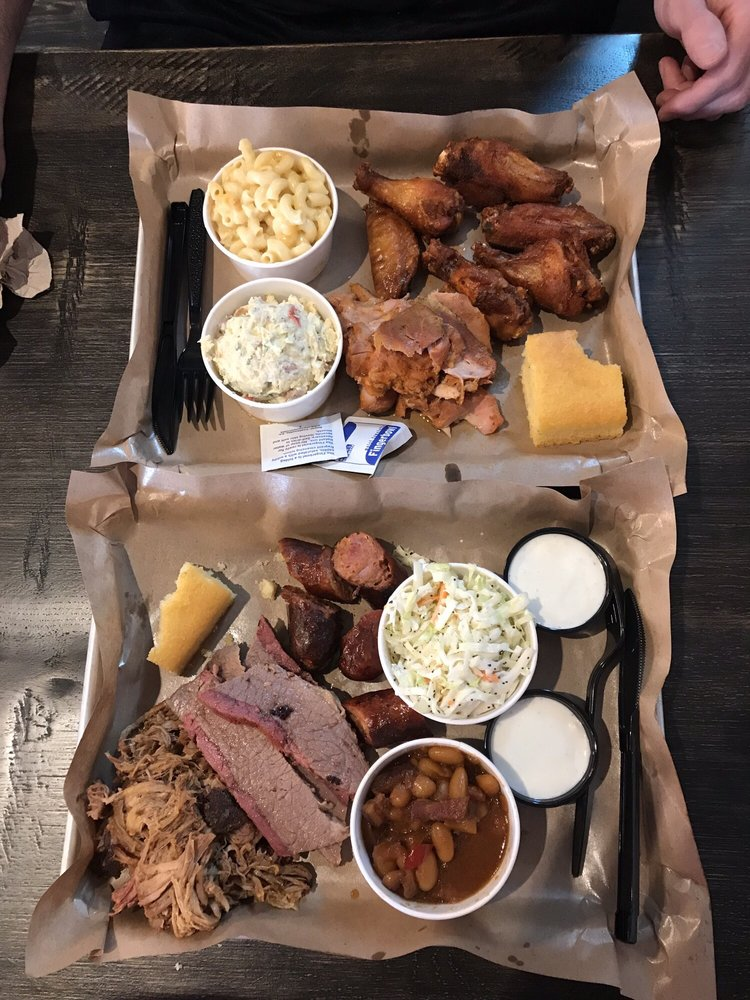 Food from Small Batch Barbecue