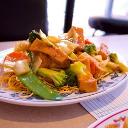 Photo Of Lotus Restaurant Minneapolis Mn United States Chow Mein With Tofu