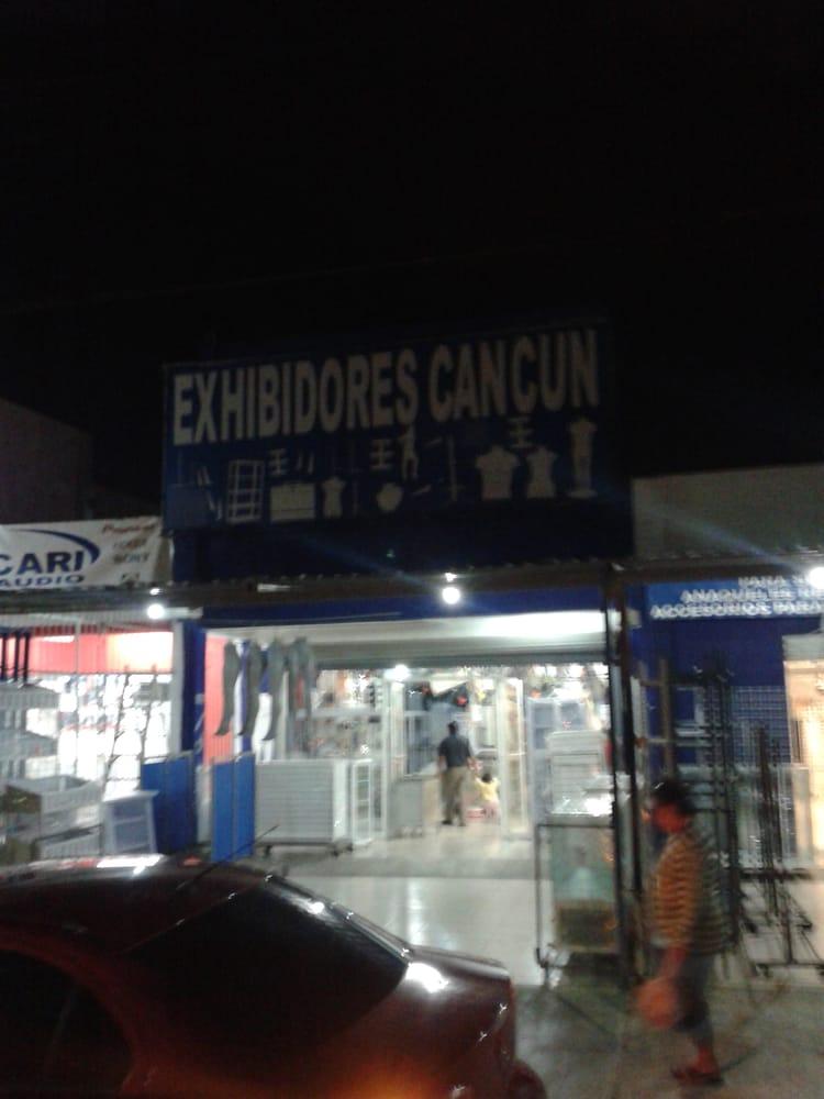 Exhibidores cancun ensamblaje de muebles av l pez for Actual muebles cancun