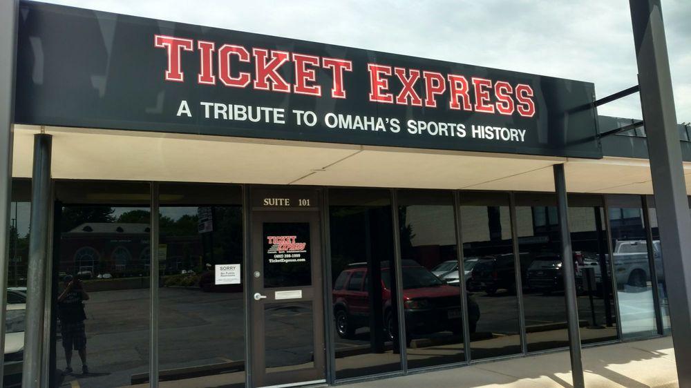 Ticket Express: 9001 Arbor St, Omaha, NE