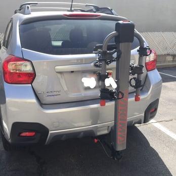 Subaru Crosstrek Hitch >> Hitch Bike Rack Onto My 2014 Subaru Crosstrek Very Pleased