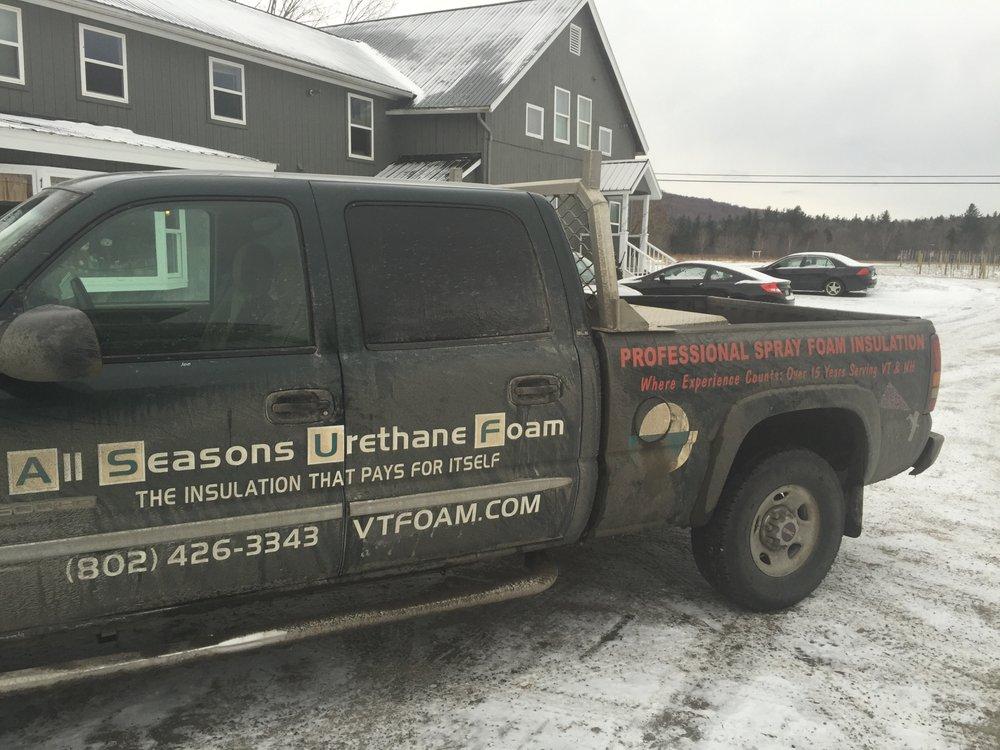 All Season Urethane Foam: 5865 US Rte 2, Plainfield, VT