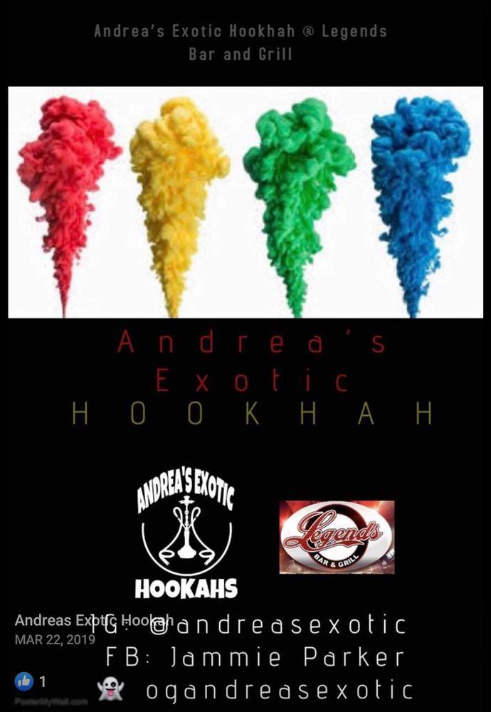 Andrea's Exotic Hookah: Greenville, SC