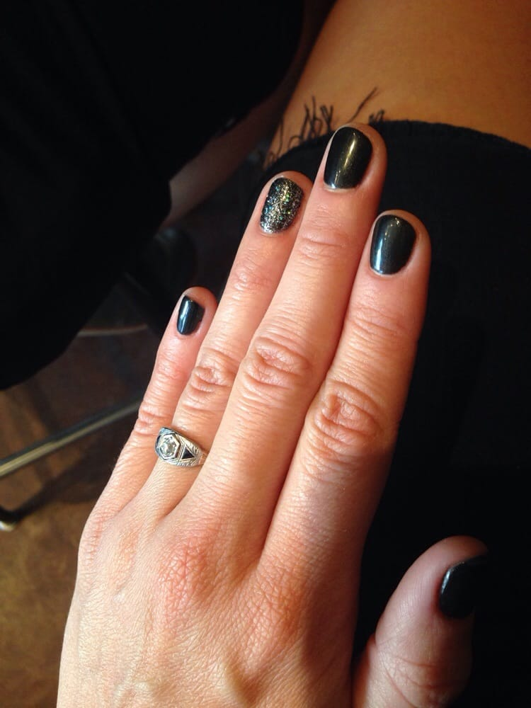 Shellac manicure! Perfect even on my super short nails. - Yelp