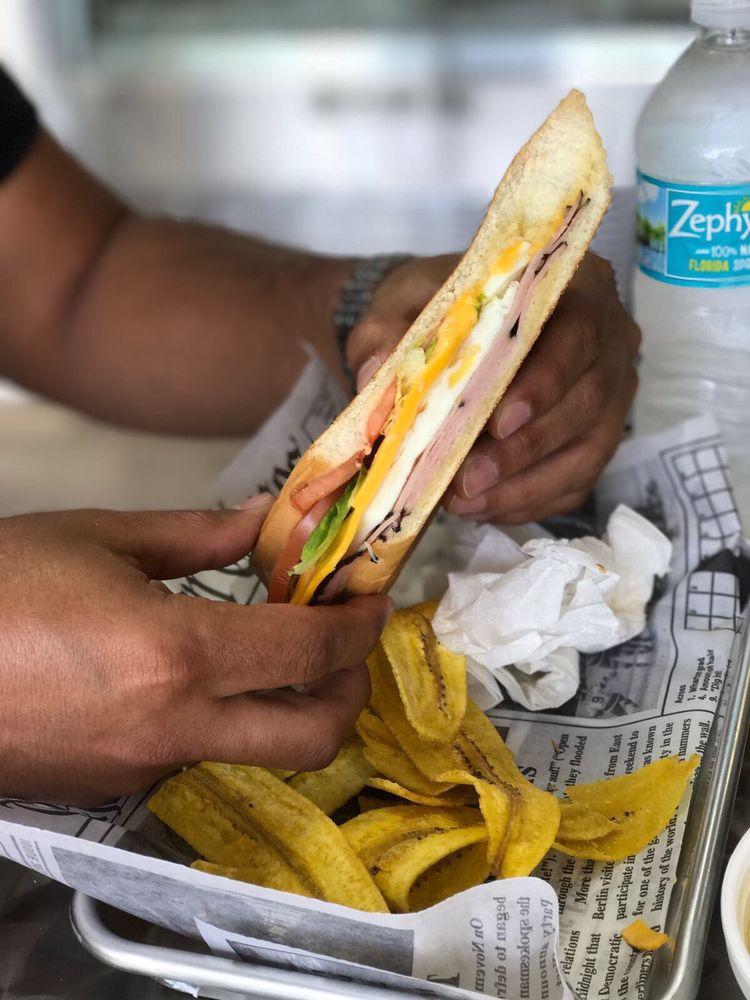 El Jibarito Sandwich: 12855 SW 136th Ave, Miami, FL