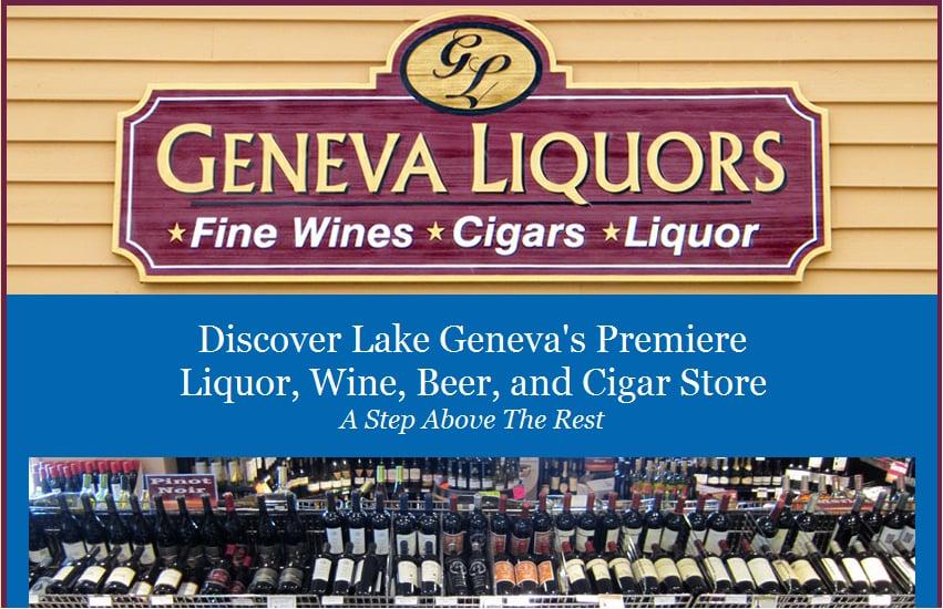 Geneva Liquors: 797 Wells St, Lake Geneva, WI