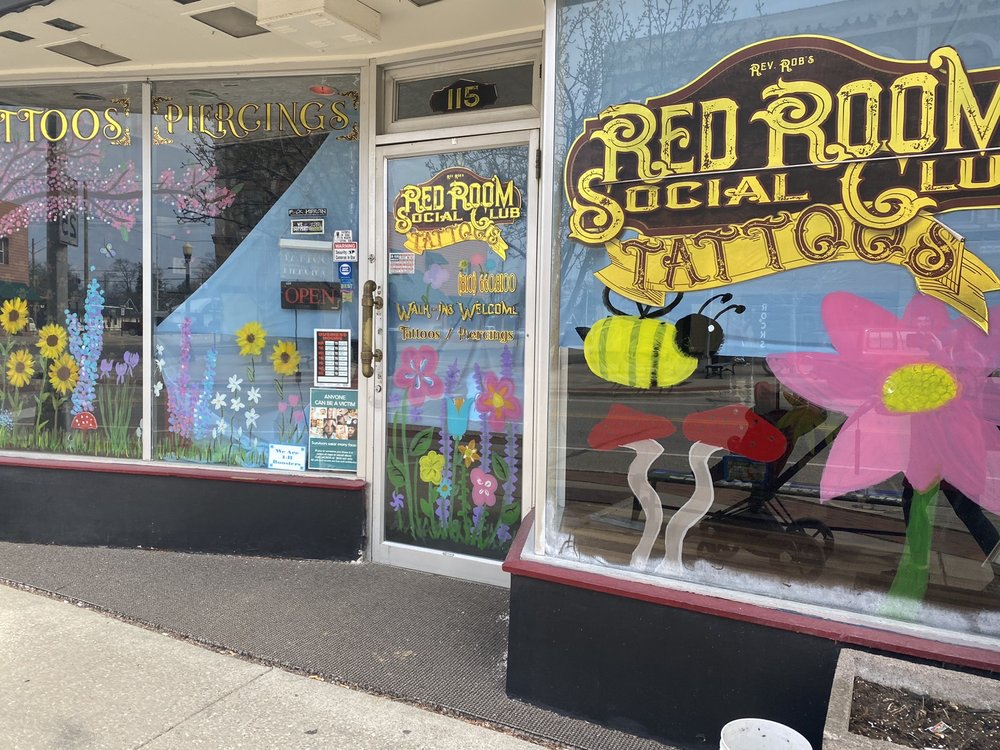 Tattoos At the Red Room: 12 E Nepessing St, Lapeer, MI