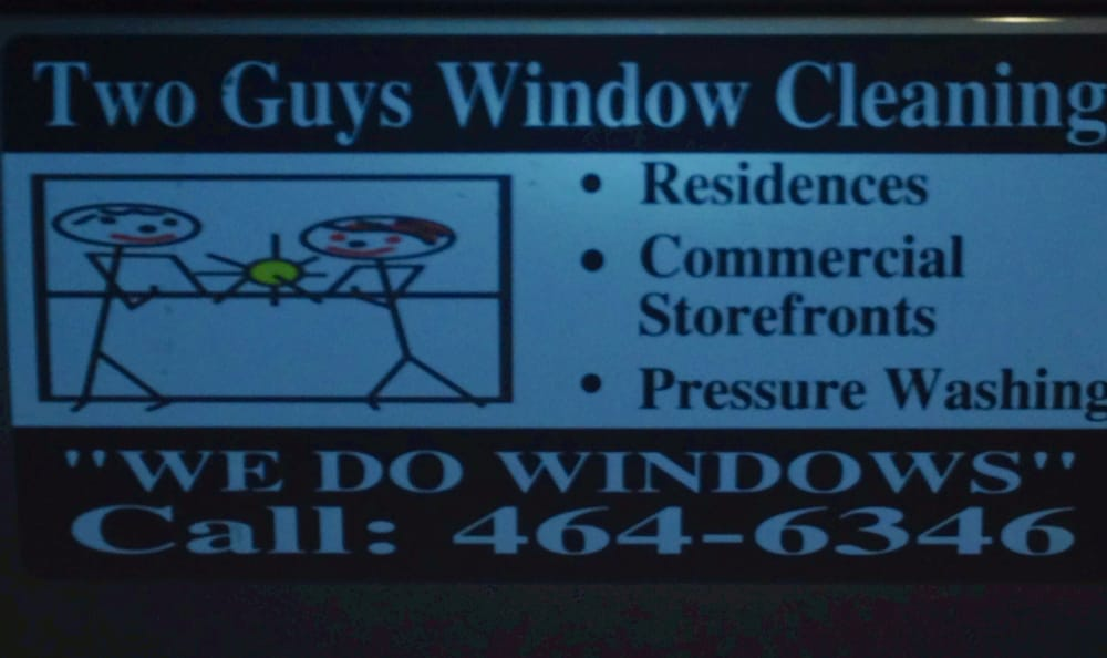 Two guys window cleaning 576 n birdneck rd for 2 good guys window cleaning