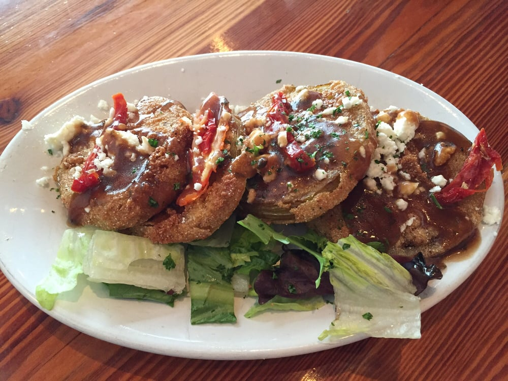 Fried green tomatoes yelp for Fish and grits near me