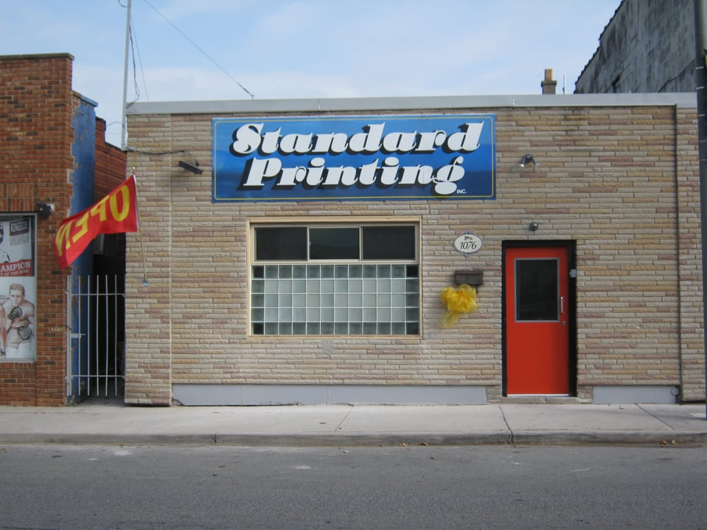 Standard Printing: 1076 Drouillard Road, Windsor, ON