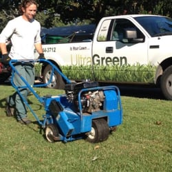 Photo Of Ultragreen North Little Rock Ar United States Caleb Aerating A
