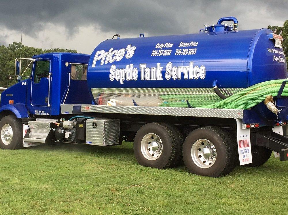 Price's Septic Tank Service - Septic Services - 2691 Jot Em