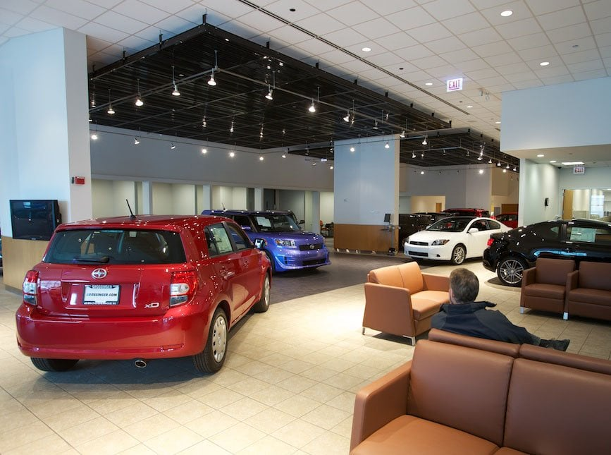Photo Of Grossinger City Toyota Chicago Il United States The Showroom Is