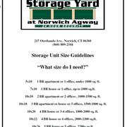 Located at Norwich Photo of The Storage Yard - Norwich CT United States.  sc 1 st  Yelp & The Storage Yard - 18 Photos - Self Storage - 217A Otrobando Ave ...