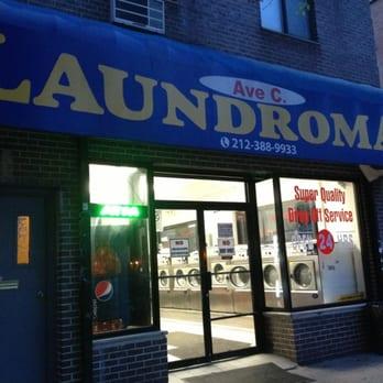 Ave C Laundromat - 69 Ave C, Alphabet City, New York, NY