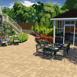 Photo Of Stone Patios VA   Herndon, VA, United States. 3D Rendering For