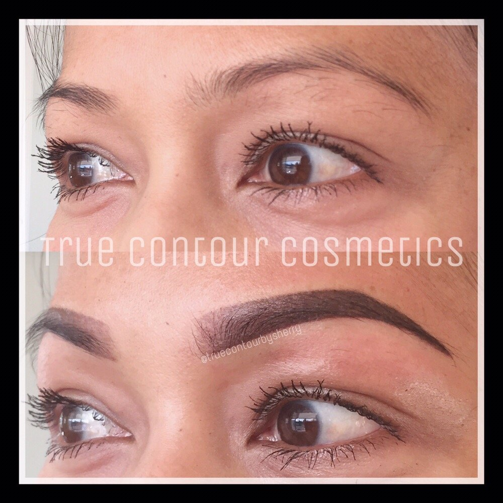 San Diego Semi Permanent Brow Tattoo Ombr Powdered Brows
