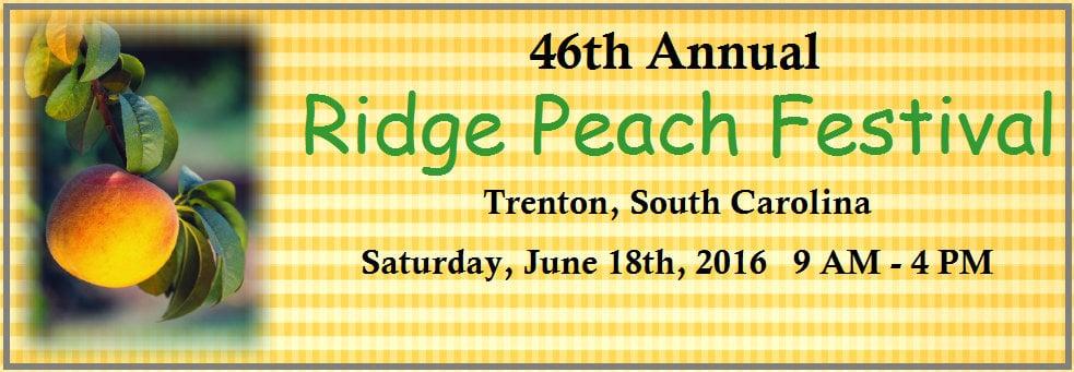 Ridge Peach Festival: 106 Church St, Trenton, SC