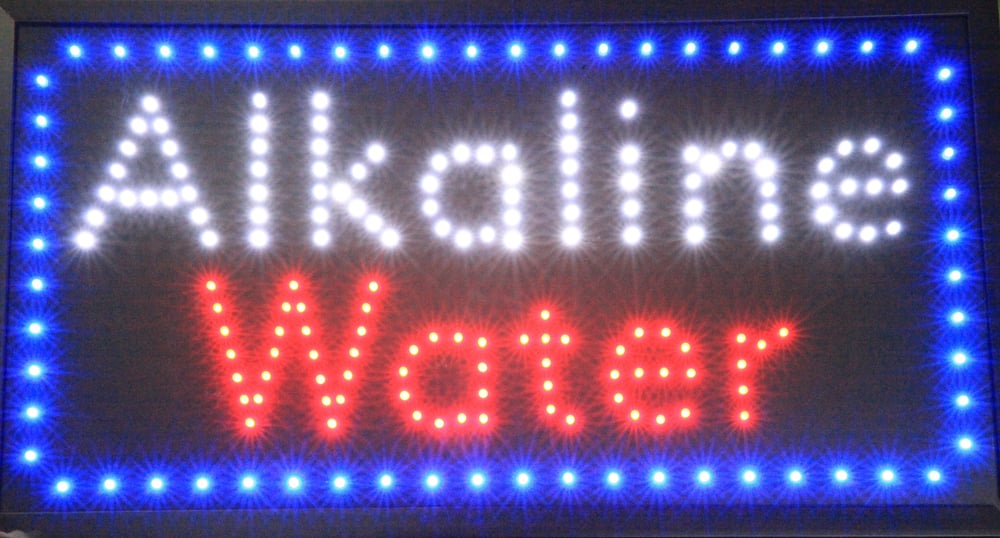 ALKALINE WATER SOLD HERE! - Yelp