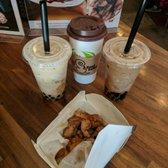 Photo of Tea Space Sunset Park - Las Vegas, NV, United States. 3 drinks + medium popcorn chicken