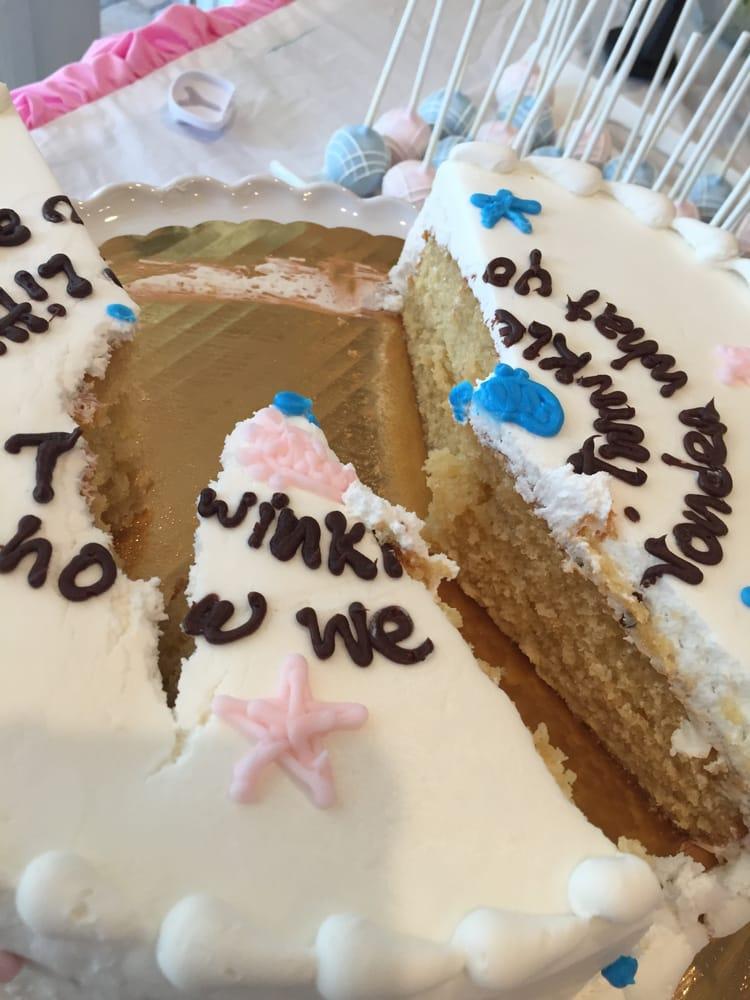 Edda Cake Design Pembroke Pines Fl : For my sister gender reveal cake it was suppose to have ...