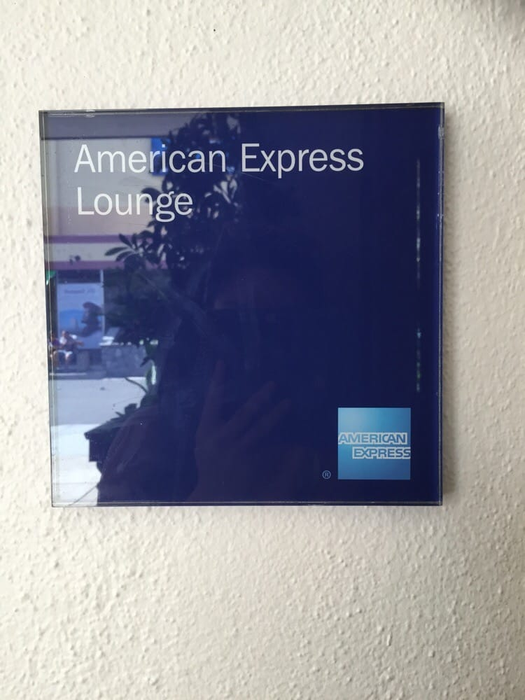 Orlando Auto Lounge >> American express lounge sign - Yelp