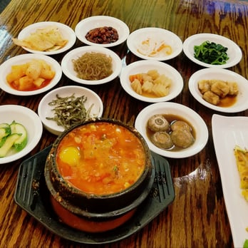 Photo Of J Korean Restaurant Naperville Il United States Seafood Soon Dubu