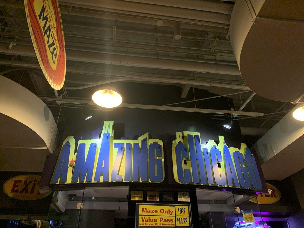 Amazing Chicago's Funhouse Maze