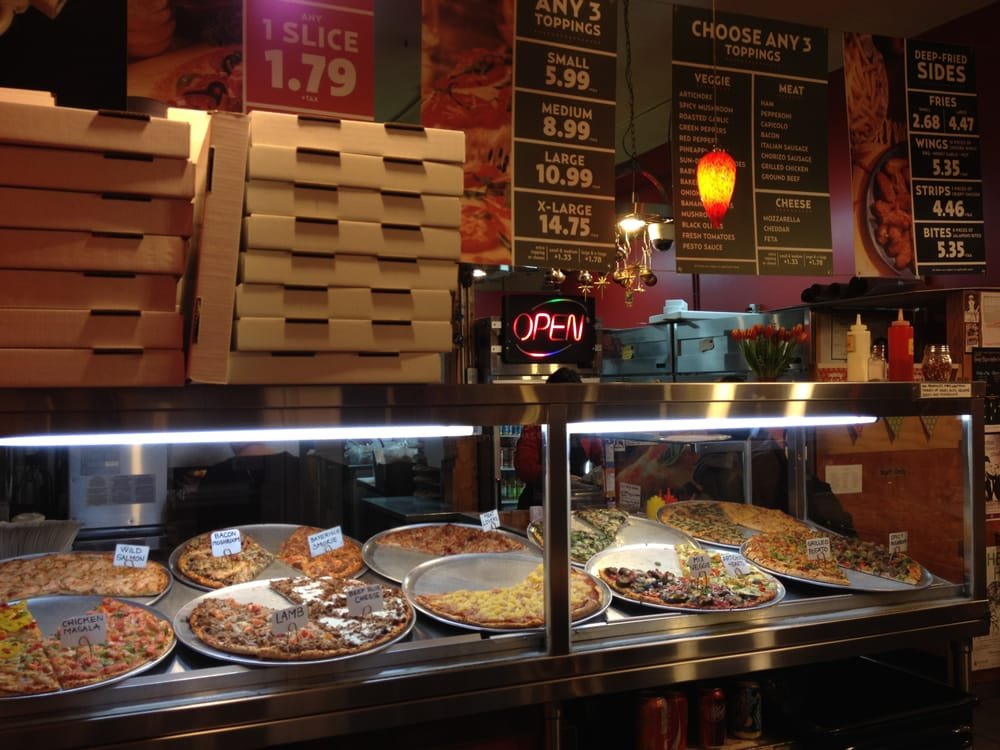Pizza display case~ - Yelp