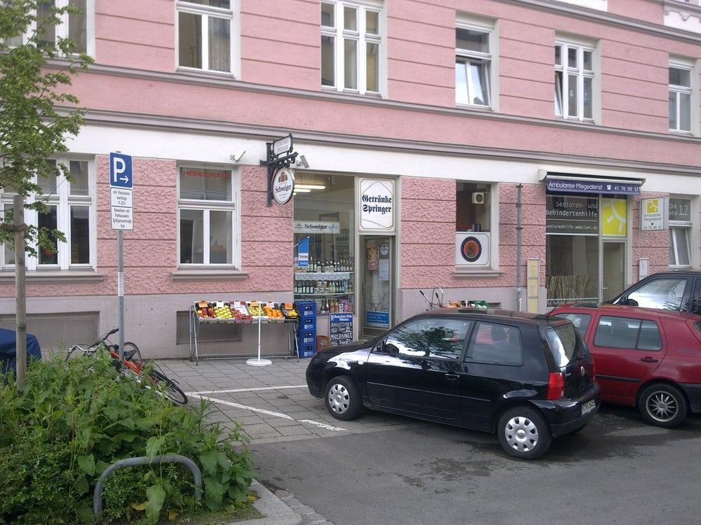 Getränke Springer - Getränkemarkt - Einsteinstr. 131, Au-Haidhausen ...