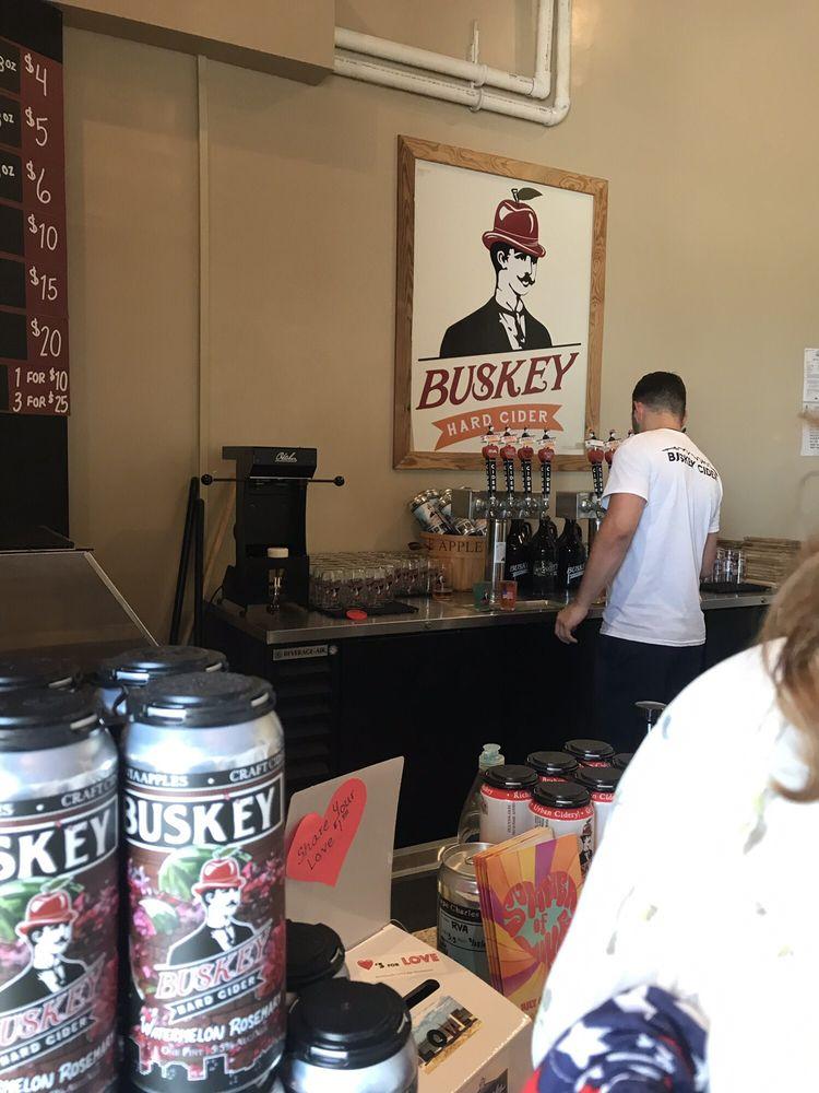 Buskey Cider On The Bay: 109 Mason Ave, Cape Charles, VA