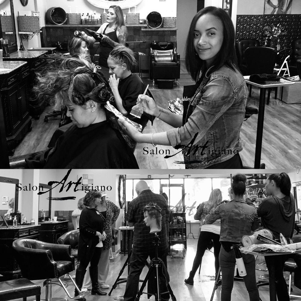 Salon Artigiano: 3817 Crosswicks Hamilton Sq Rd, Robbinsville, NJ