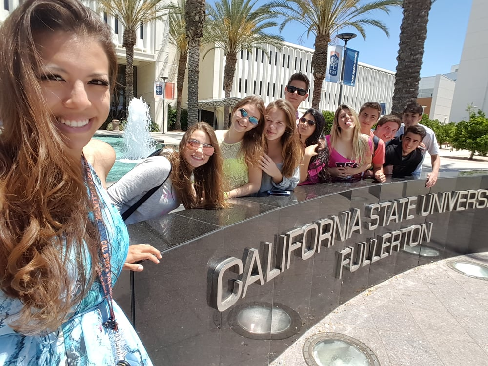 Image result for photos of California State University Fullerton.