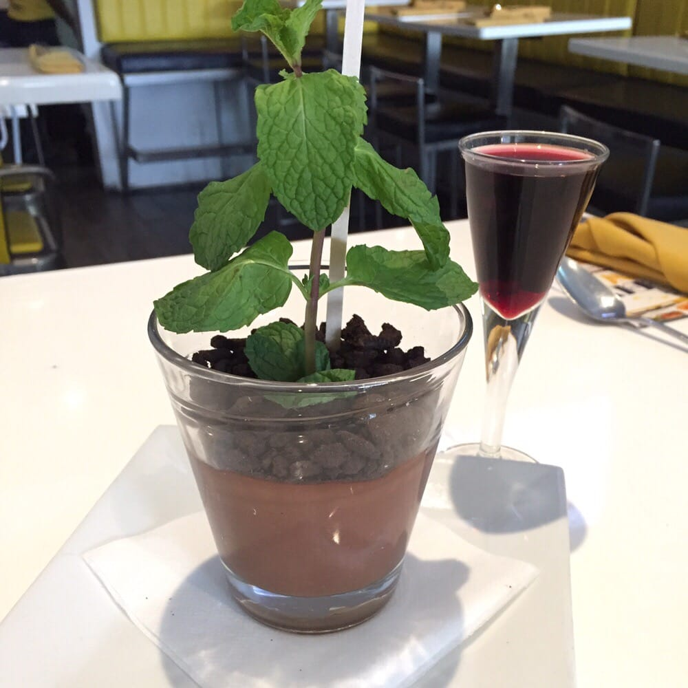 ... Cocina - New York, NY, United States. Potted chocolate mint pudding
