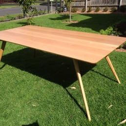 sawdust furniture. photo of sawdust timber furniture box hill south victoria australia american oak dining