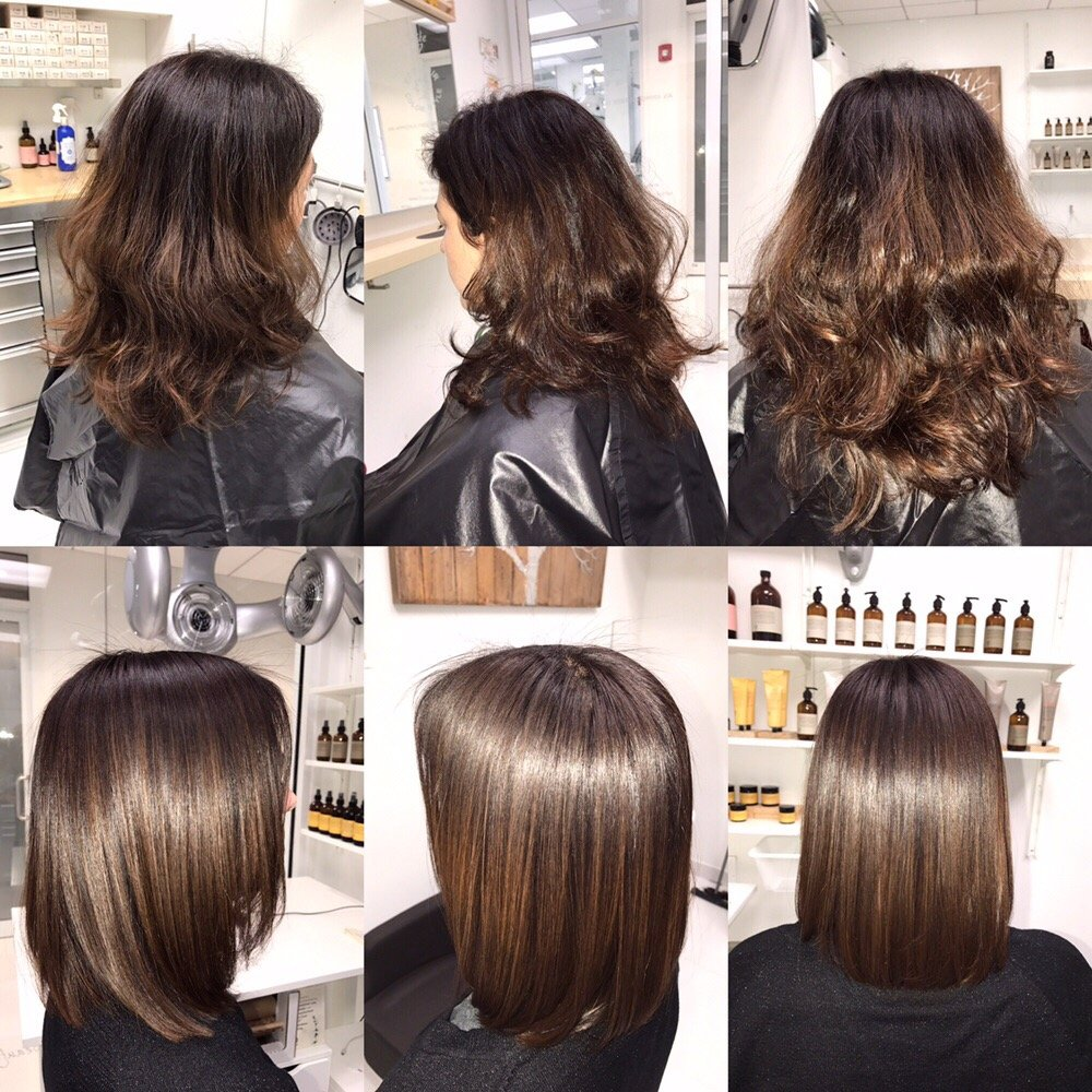 Ammonia Free Color Formaldehyde Free Smoothing Treatment Haircut
